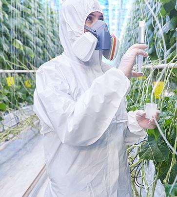 Textiles techniques pour l agriculture