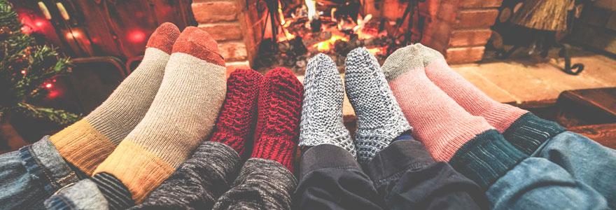 Chaussettes pour homme et femme